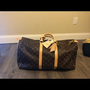 Authentic Louis Vuitton Keepfull 55